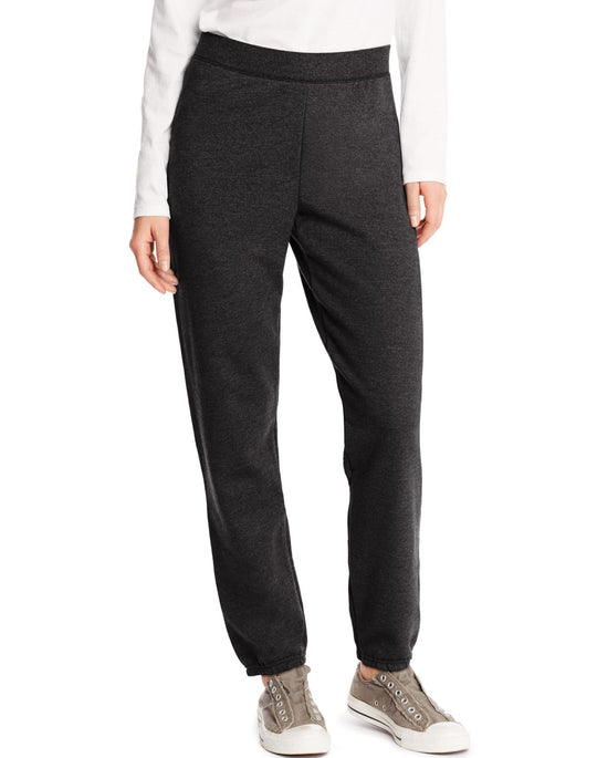 Hanes Women`s ComfortSoft EcoSmart Cinch Leg Sweatpants