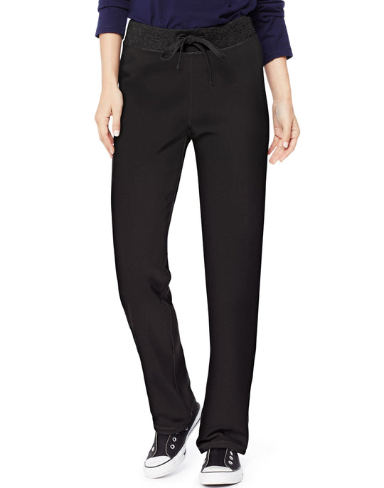 Hanes Womens French Terry Pant