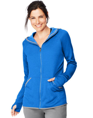 Hanes Womens Sport™ Performance Fleece Zip Up Hoodie