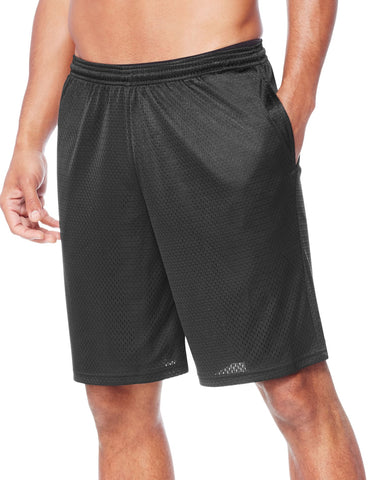 Hanes Mens Sport Mesh Pocket Shorts
