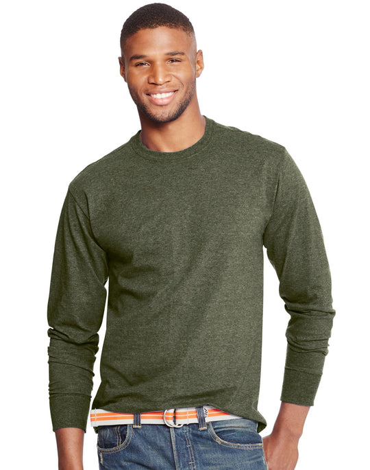 Hanes Men`s X-Temp Long-Sleeve T-Shirt