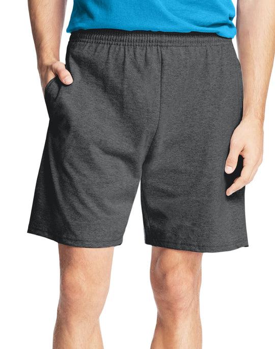 Hanes Men`s Jersey Cotton Shorts