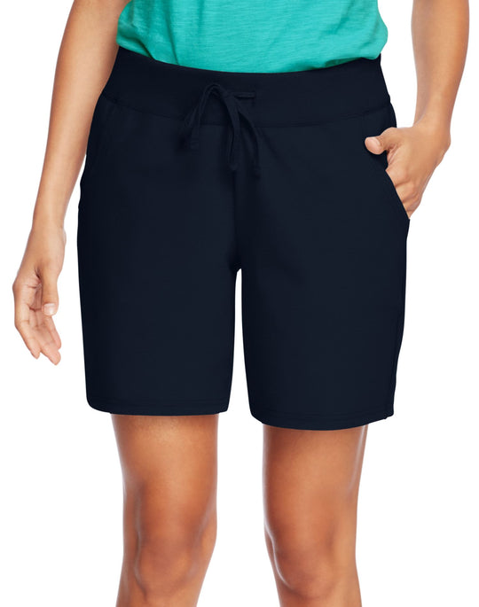 Hanes Women`s Jersey Pocket Short