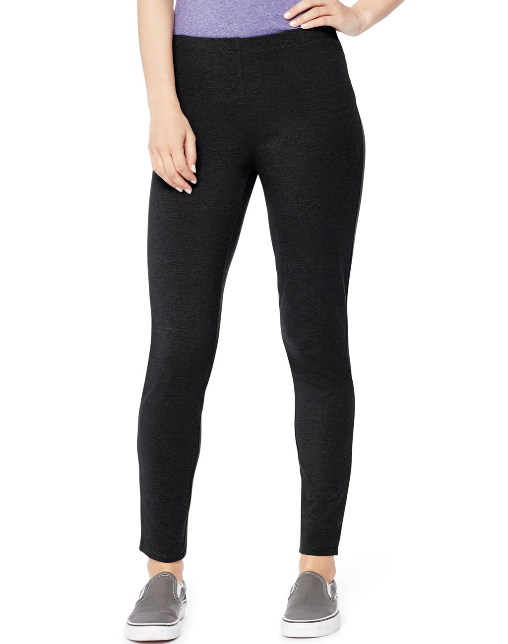 Hanes Women`s Stretch Jersey Legging