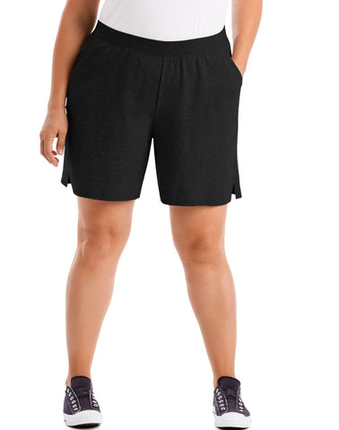 Just My Size Womens Cotton Jersey Pull-On Shorts