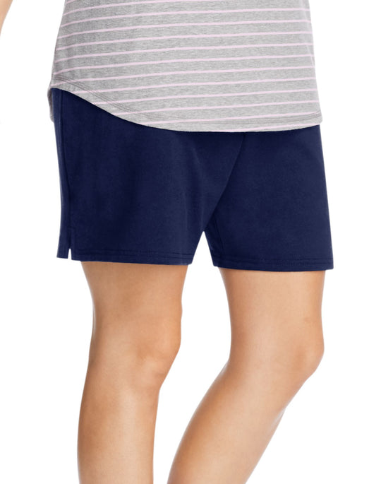 Just My Size Womens X-Temp French Terry Shorts with Pockets