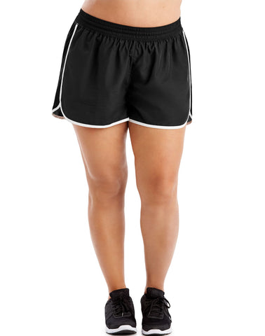 Just My Size Womens Active Woven Run Shorts