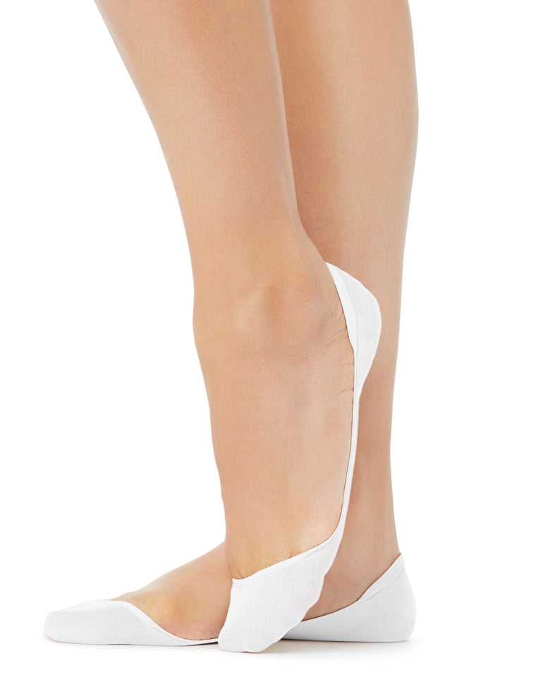 Hanes Womens X-Low Microfiber Foot Cover - 2-Pack