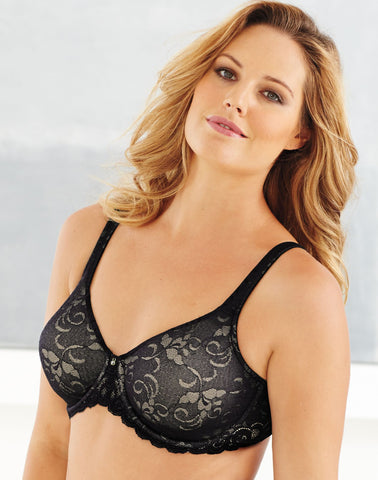 Lilyette® by Bali® Beautiful Support Women`s Lace Minimizer® Bra