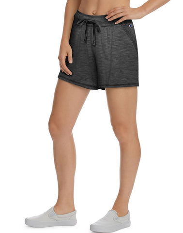 Champion Womens Heathered Jersey Shorts