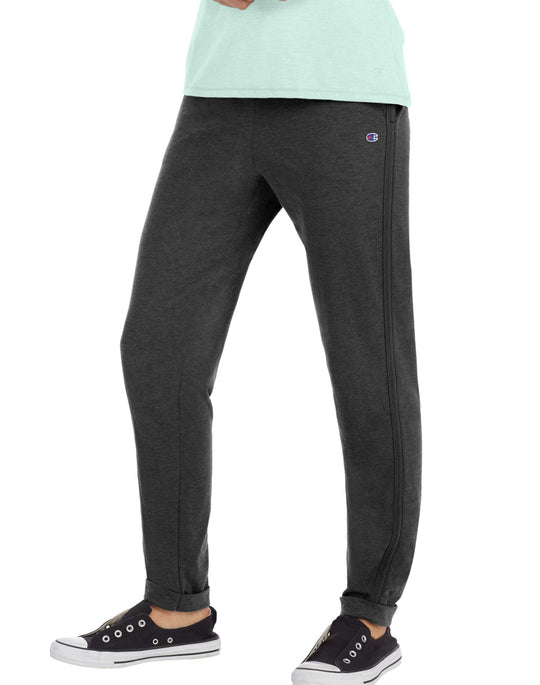 Champion Womens Heathered Jersey Joggers