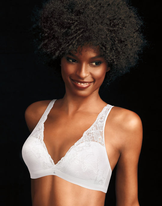 Maidenform® Fit to Flirt Women`s Wirefree Plunge Allover Lace Bra