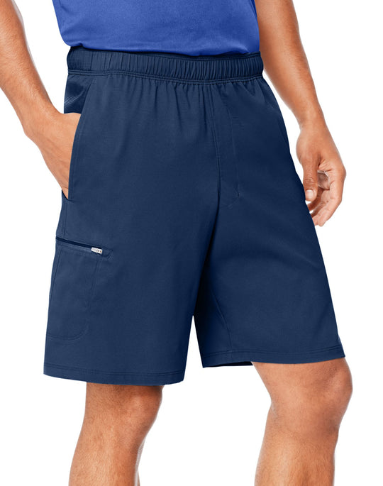 Hanes Mens Sport Hybrid Pocket Shorts