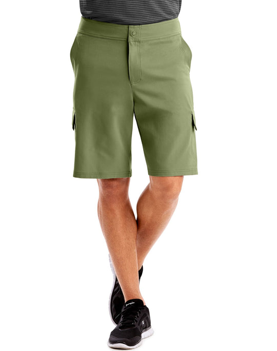 Hanes Mens Sport Woven Utility Shorts