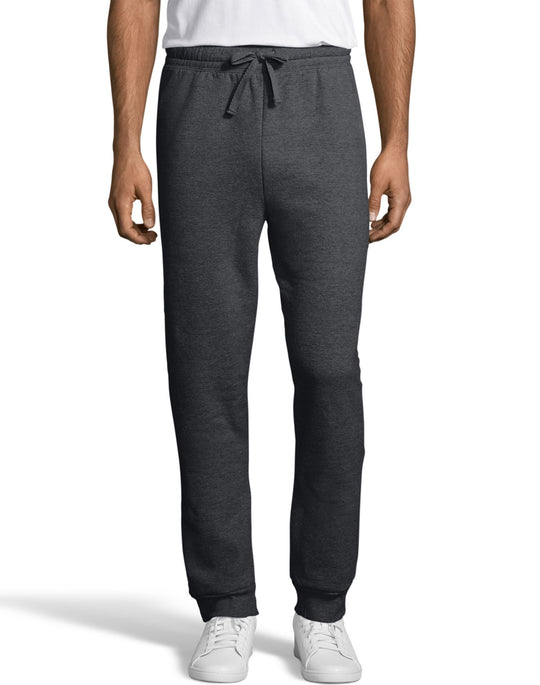 Hanes Mens EcoSmart Fleece Jogger Sweatpant with Pockets