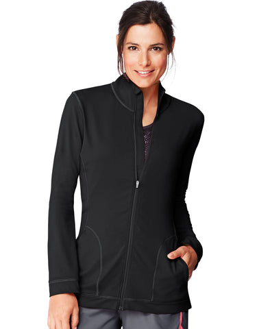 Hanes Womens Sport Performance Fleece Zip Up Jacket