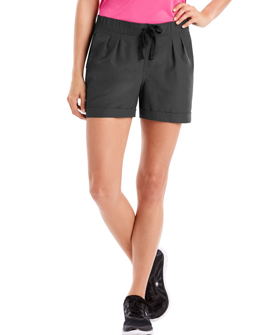 Hanes Womens Sport Performance Woven Shorts