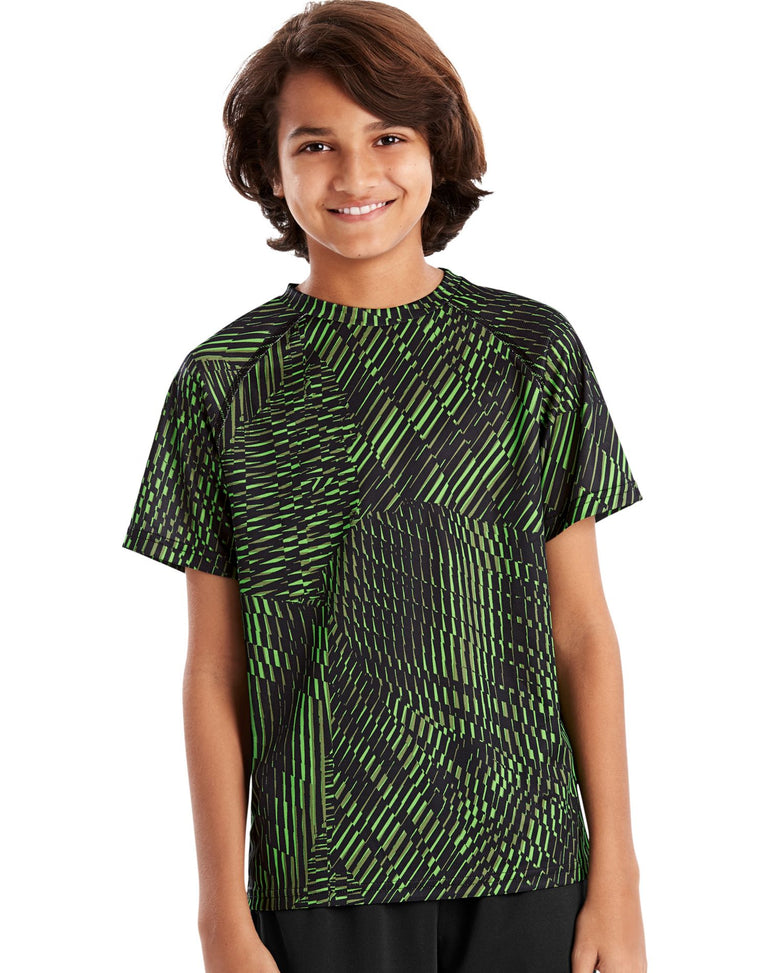 Hanes Boys Sport Graphic Short Sleeve Tech Tee