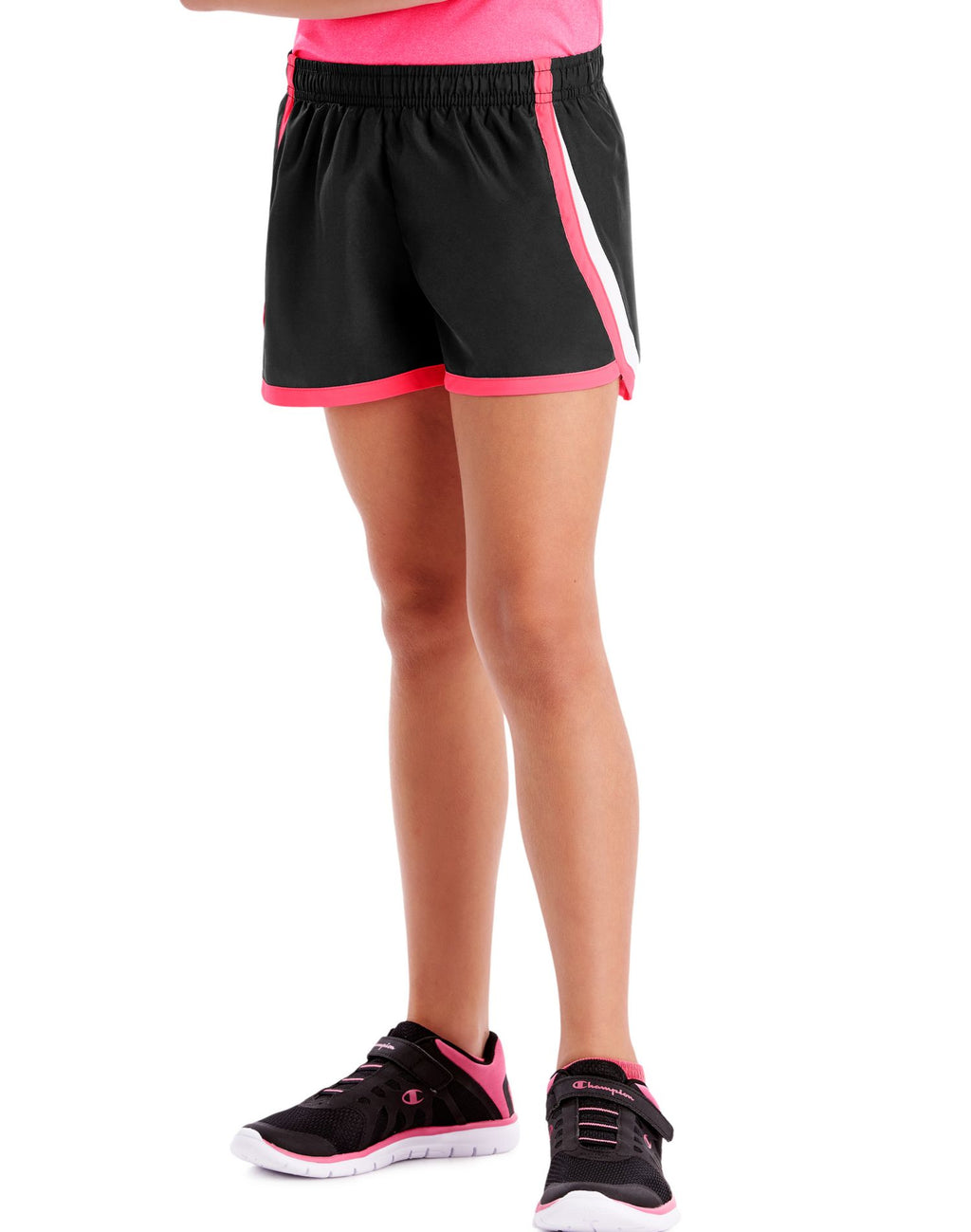 Hanes Girls Sport Woven Performance Training Shorts