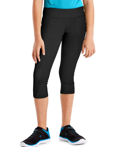 Hanes Girls Sport Performance Capri Leggings
