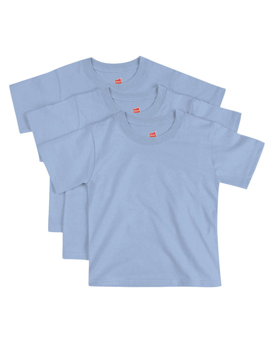 Hanes Toddlers ComfortSoft 3-Pack Crewneck T-Shirt