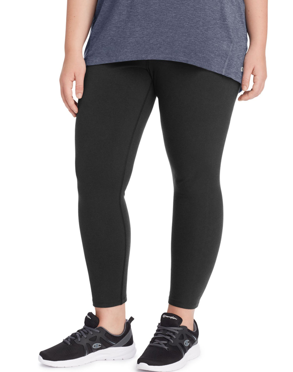 Champion Womens Plus Authentic 7/8 Tights