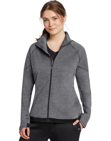 Champion Women`s Plus Tech Fleece Full Zip Jacket