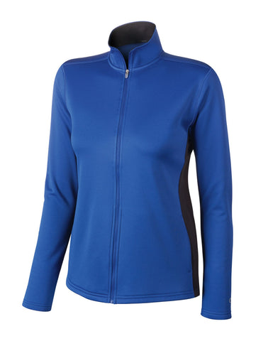 Champion Double Dry Women`s Colorblock Full Zip Jacket