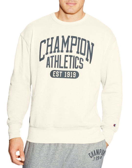 Champion Mens Heritage Fleece Crew