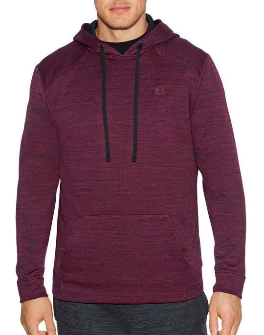 Champion Mens Premium Tech Fleece Pullover Hood