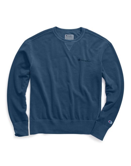 Champion Mens Vintage Dye Fleece Crew