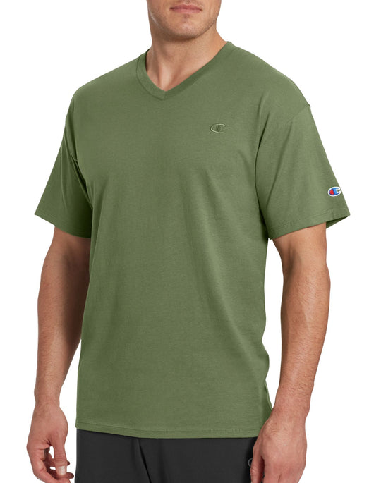 Champion Men`s Classic Jersey V-Neck
