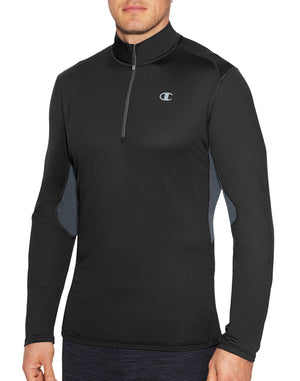 Champion Mens Training Quarter Zip Jacket