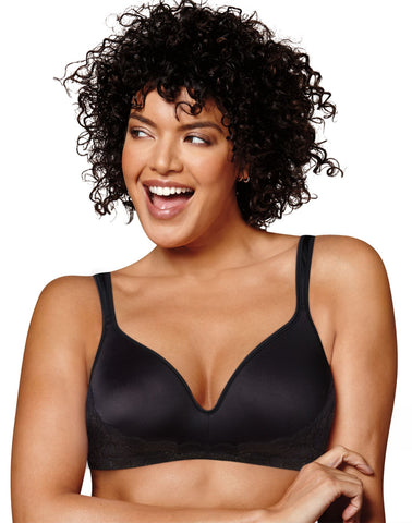 Playtex Womens Love My Curves Side Smoothing Wirefree Bra