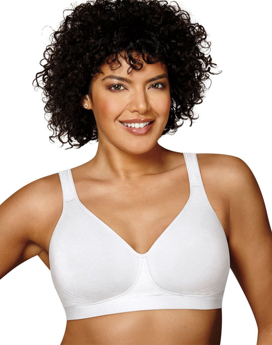 Playtex Womens 18 Hour Cotton Stretch Ultimate Lift and Support Wirefree Bra