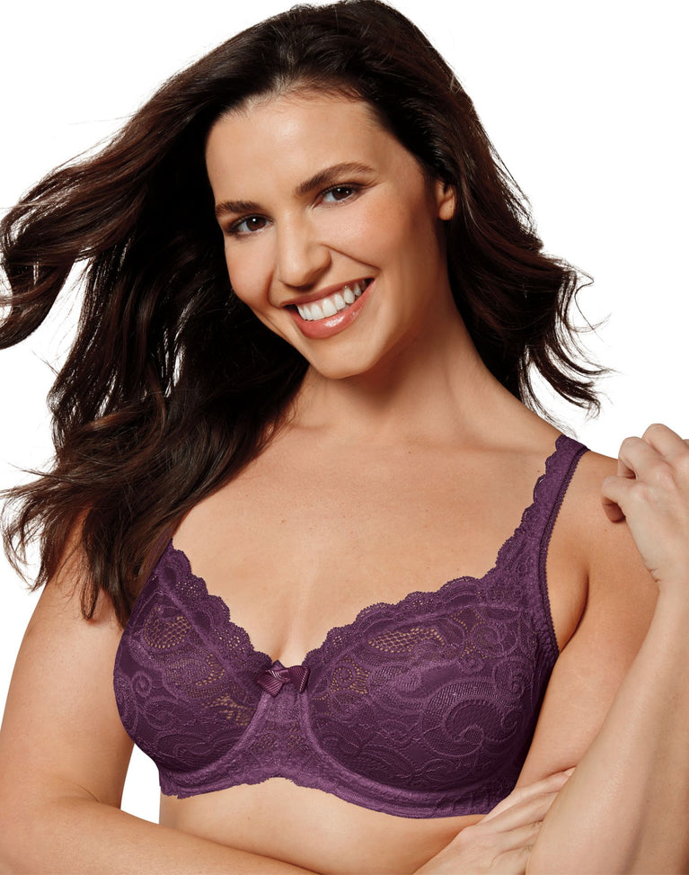 Playtex Womens Love My Curves Sexy Lift Underwire Bra