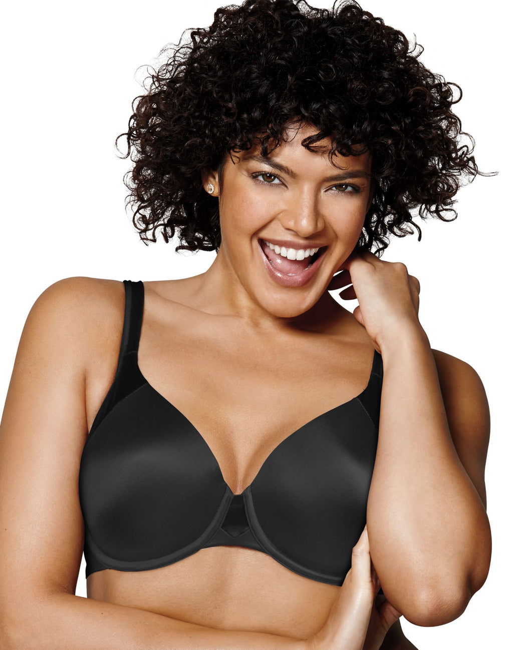 Playtex Womens Love My Curves T-Shirt Underwire Bra