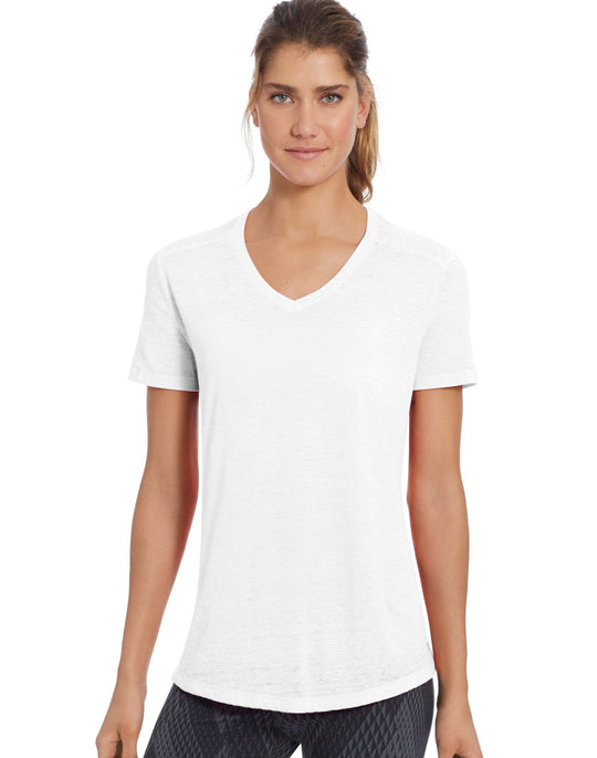 Champion Women`s Authentic Wash Boyfriend Tee