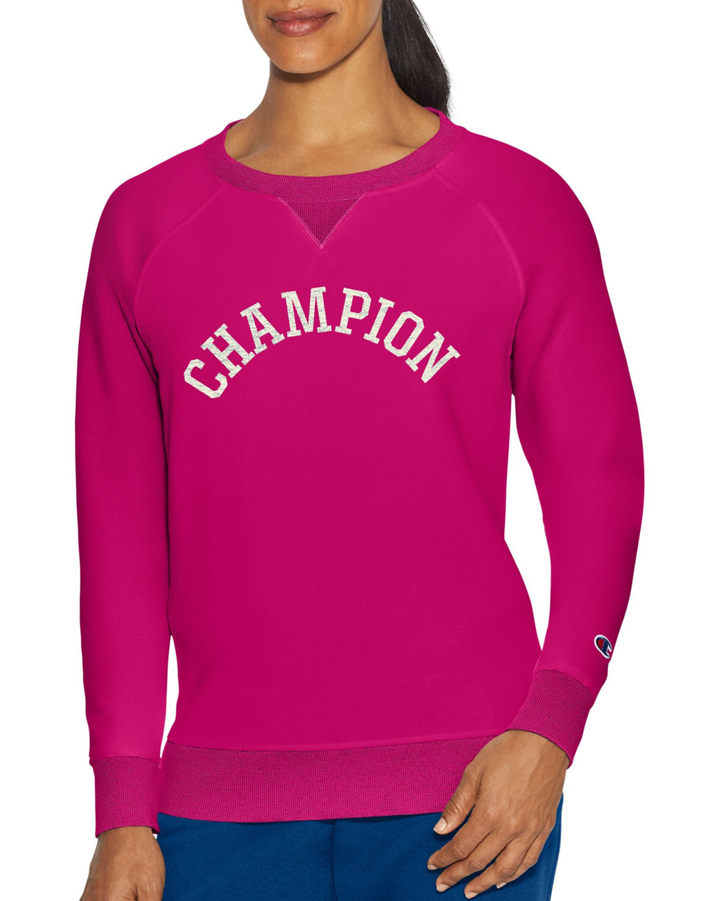 Champion Womens Heritage Fleece Crew Sweatshirt