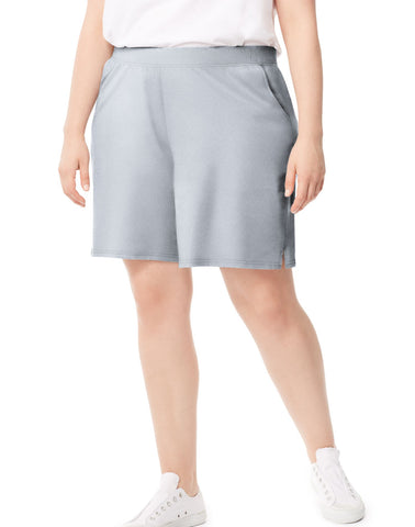 Just My Size Women`s Plus-Size Cotton Jersey Pocket Shorts
