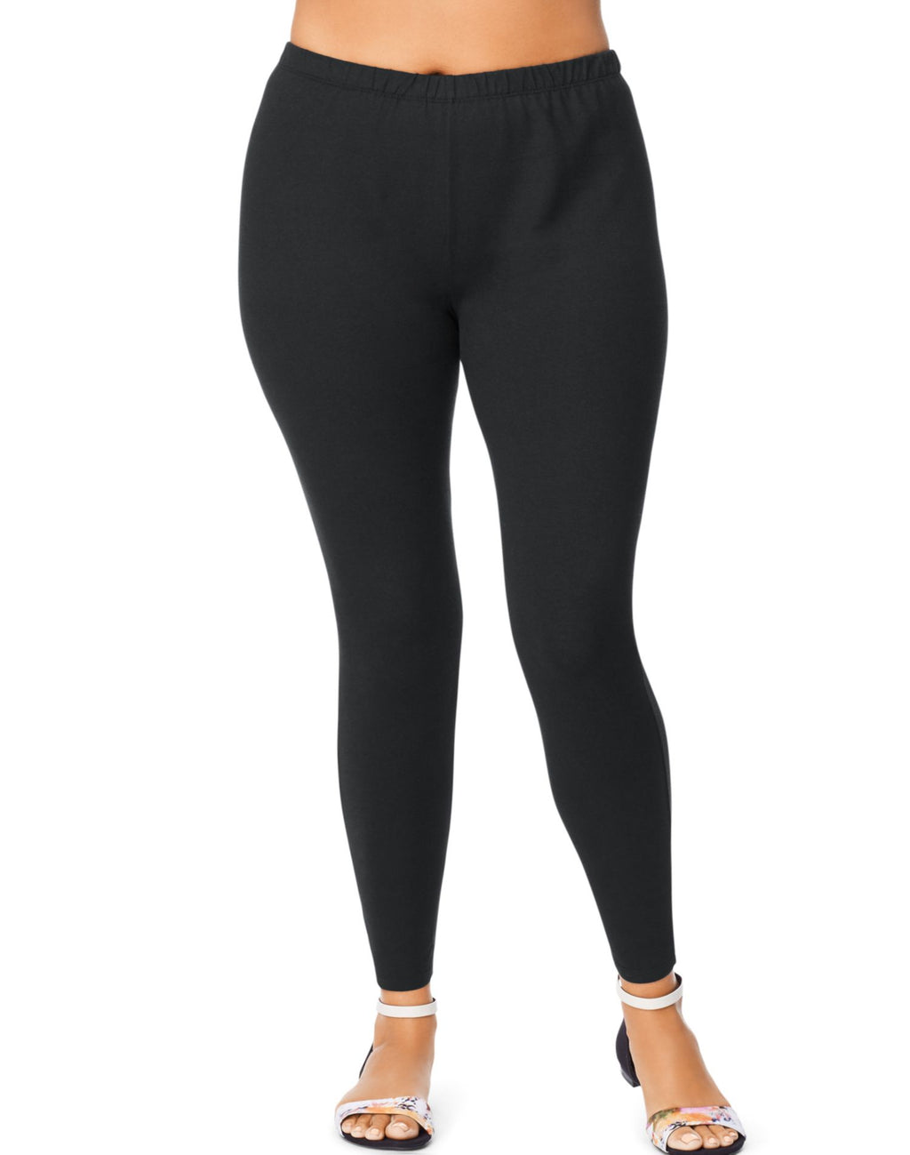 Just My Size Womens Stretch Cotton Jersey Leggings