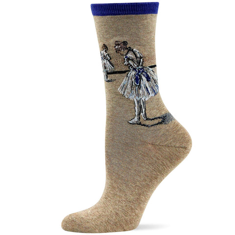 Hot Sox Womens Artist Series Degas Study Dancer Sock