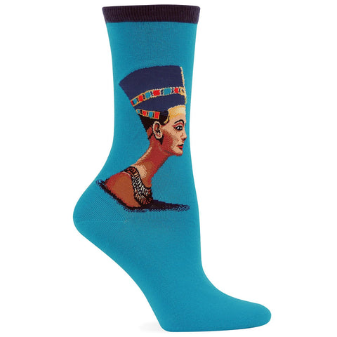 Hot Sox Womens Artist Series Nefertiti Sock