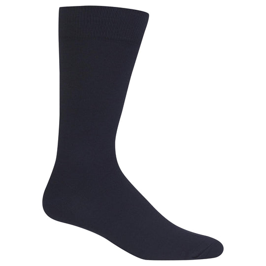 Hot Sox Mens Supersoft Solid Socks