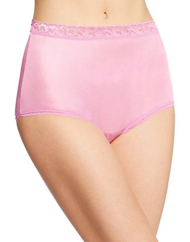 Hanes Women`s Nylon Brief Panties 6-Pack