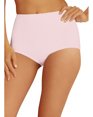 Hanes Women's Stretch Cotton Light Control Brief 2 Pack