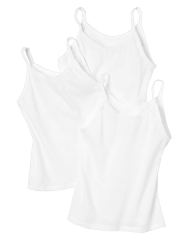 Hanes Toddler Girls` TAGLESS Camisole 3-Pack