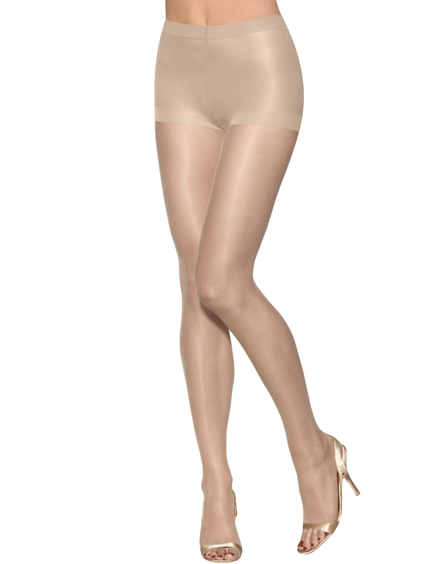 27a1c573e0d 0B376 - Hanes Silk Reflections Lasting Sheer Ultra Sheer Toeless Control  Top Pantyhose 1 Pair Pack – NY Lingerie