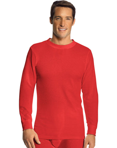 Hanes Men's Thermal Crew Neck