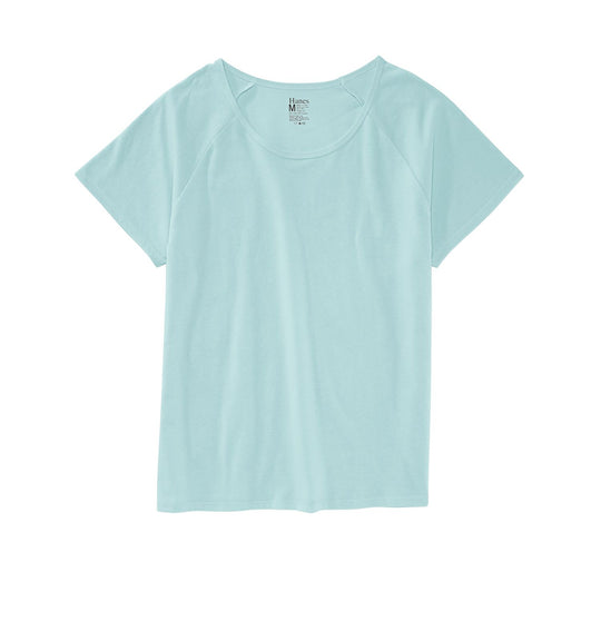 Hanes Women's Essential Scoop Neck Sleep Tee